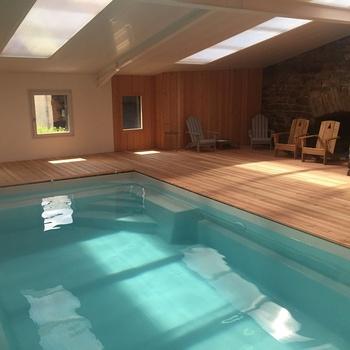 Réalisation d''une piscine intérieure - Pontrieux